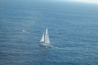 Image of the yacht Nilaya supplied by NZ Customs.