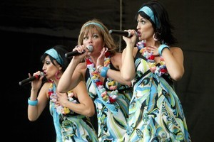 The Beat Girls perform at last year's Harvest Festival in Hawke's Bay. Photo / Paul Taylor