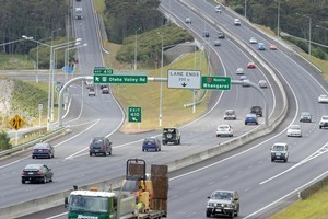There are many changes to the motorway. Photo / NZPA