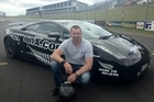 Auckland entrepreneur Eddie Freeman (above) reckons his Lamborghini Superleggera is capable of around 400km/h. Photo / Supplied