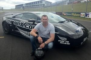 Auckland entrepreneur Eddie Freeman (above) reckons his Lamborghini Superleggera is capable of around 400km/h. Photo / Supplied
