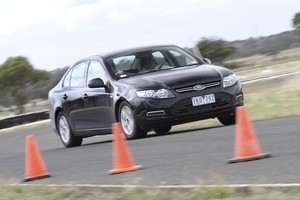 The Ford Falcon EcoBoost delivers town-and-around fuel economy of 8.1 litres/100km. Photo / Supplied