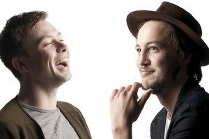 Anthonie Tonnon (left) and Marlon Williams. Photo / Ted Baghurst