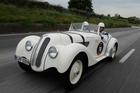 The BMW 328 Berlinetta Touring is a star of the BMW museum in Munich. Photo / an.niedermeyer
