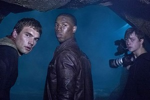 Alex Russell, Michael B Jordan, and Dane DeHaan are shown in a scene from Chronicle. Photo / Supplied