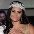 Barbara Monteiro, from Brazil's Mato Grosso do Sul state, gestures after winning the pageant. Photo / AP