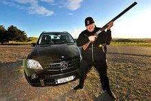 Megaupload.com founder Kim Dotcom is awaiting extradition in a New Zealand prison. Photo / Supplied