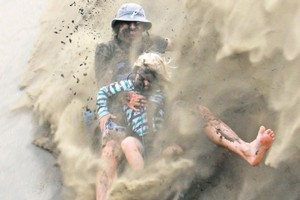 The winning photograph of the Herald's Holiday Picture Competition. Photo / Dexter Murray