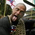2007: A Maori protester pokes out his tongue while marching on the Treaty Grounds during celebrations for the Treaty of Waitangi. Photo / Nigel Marple