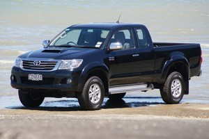 Toyota Hilux SR5 Extra Cab. Photo / Supplied