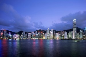 Hong Kong's nightly light display is a 10-minute spectacular which has grown to become the world's largest permanent light-and-sound show. Photo / Supplied