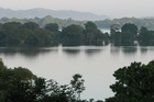 Sri Lanka's tranquil Kandalama Lake as seen from the Heritance Kandalama hotel. Photo / Jill Worrall