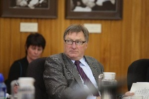 Wanganui District Councillor Rob Vinsen recommended councillors' salaries should be linked to meeting attendance. A majority of his colleagues disagreed. Photo / Wanganui Chronicle