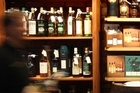 The Whisky Shop at the Elliot Stables has a great selection. Photo / Janna Dixon