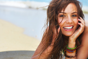 Tousled and bronzed - two of my favourite beauty trends for summer. Photo / Thinkstock