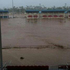Manu Samoa's home ground, Apia Park, flooded after Cyclone Evans passed through the area. Photo / Twitter / @JIP2EZY