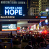 People gather before the '12-12-12' benefit concert at Madison Square Garden. Photo / AP
