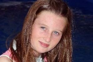 Olivia Thorburn is 12 today, the 12/12/12. Photo / Hawke's Bay Today