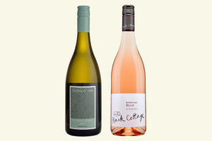 Elephant Hill Le Phant Blanc 2011 and Black Cottage Rose 2012.