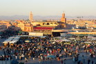 Morocco's Djemaa el Fna square. Photo / Supplied