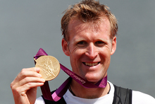 Olympic single sculls gold medallist Mahe Drysdale and world No 1 eventer Andrew Nicholson w