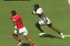Watch the fastest player in world rugby terrorize the sevens circuit. Video - Youtube - Rugbyplease.