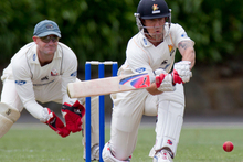 Wellington Firebirds batsman Luke Ronchi. Photo / Greg Bowker.