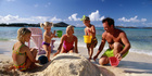 Getting the family to the beach requires pre-planning.Photo / Thinkstock