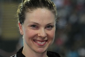 New Zealand swimmer Lauren Boyle won a bronze medal to go with her gold. Photo / Supplied