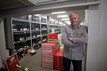 Christmas is the busiest time of the year for John Macpherson at Advintage. Photo / Supplied