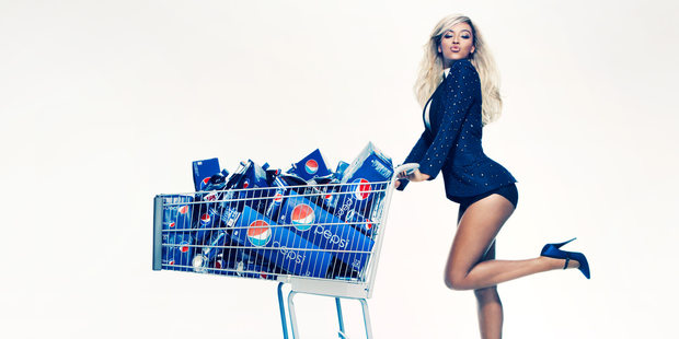 Beyonce has been in partnership with Pepsi since 2001 and the 31-year-old's next steps are a first for advertising campaigns such as this. Photo / Pepsi