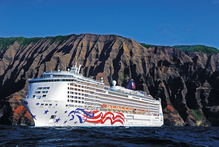Pride of America provides week-long cruises around the state of Hawaii. Photo / Supplied