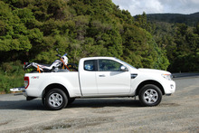 The Ford Ranger XLT Super Cab. Photo / Jacqui Madelin