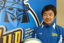 New Highlanders halfback Fumiaki Tanaka. Photo / Michael burgess