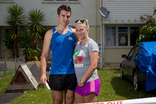 Anthony Lings and Rochelle Wech from Hobsonville. Photo / Greg Bowker