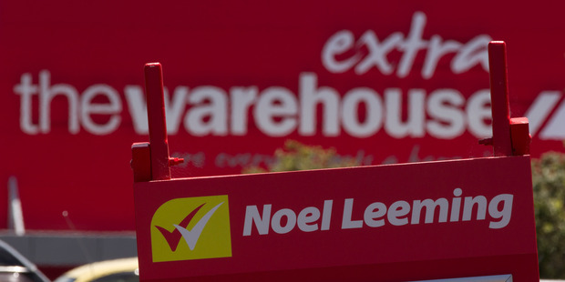 The Warehouse says it will consider its strategy for the Noel Leeming brand carefully. Photo / Brett Phibbs