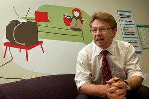 Russell Wills says the Government is taking his report on child poverty seriously. Photo / Brett Phibbs