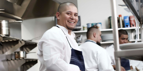 Sal Grant became set on being a chef when he was just nine years old.