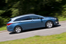 The Hyundai i40 BlueDrive has fuel effeciency of 4.5 litres per 100km. Photo / Supplied