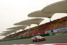 Greg Murphy during qualifying in Shanghai in 2005, the last time the V8 Supercars raced in China. Picture / Getty Images