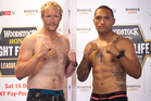 Eric Murray and Manu Vatuvei will slug it out against each other in the boxing ring on Saturday. Photo / Dean Purcell