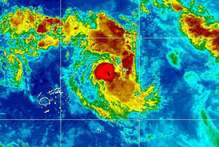 Samoa is in line for a double hit from Cyclone Evan which formed in the South Pacific this morning.  Photo / Supplied