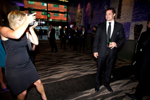 All Black Richie McCaw at the Rugby Awards held at SkyCity. Photo / Dean Purcell