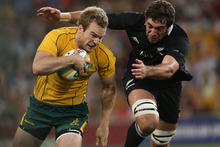 Australia held the All Blacks to a draw. Photo / Getty Images
