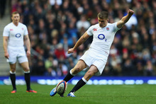 Owen Farrell impressed against the All Blacks. Photo / Getty Images 