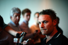 Brendon McCullum has stuck his neck out in taking on the captaincy of the Black Caps. Photo / Getty Images