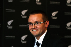 Mike Hesson was the youngest person to attain an NZC level three coaching qualification. Photo / Getty Images