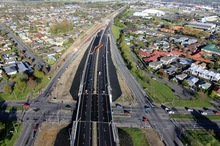 Christchurch Southern Motorway in October. Photo / Supplied