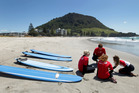 Traditional holiday spots like Mt Maunganui are among popular choices for holidaymakers. Photo / Alan Gibson
