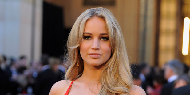 Actress Jennifer Lawrence has been named the most desirable woman in a new poll.Photo / AP